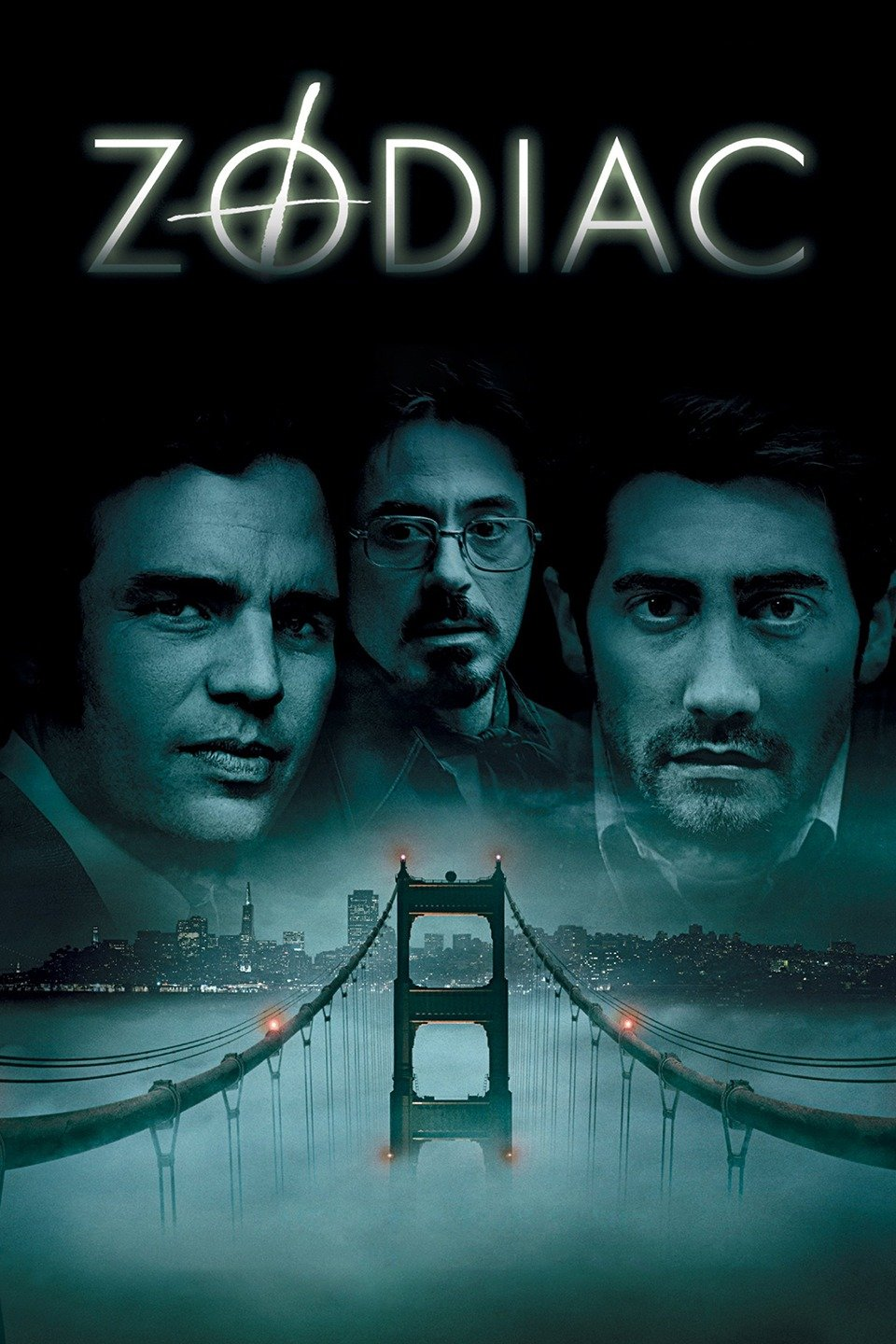 — ZODIAC   In the late 1960s and 1970s, fear grips the city of San Francisco as a serial killer called Zodiac stalks its residents. Investigators (Mark Ruffalo, Anthony Edwards) and reporters (Jake Gyllenhaal, Robert Downey Jr.) become obsessed with learning the killer's identity and bringing him to justice. Meanwhile, Zodiac claims victim after victim and taunts the authorities with cryptic messages, cyphers and menacing phone calls.