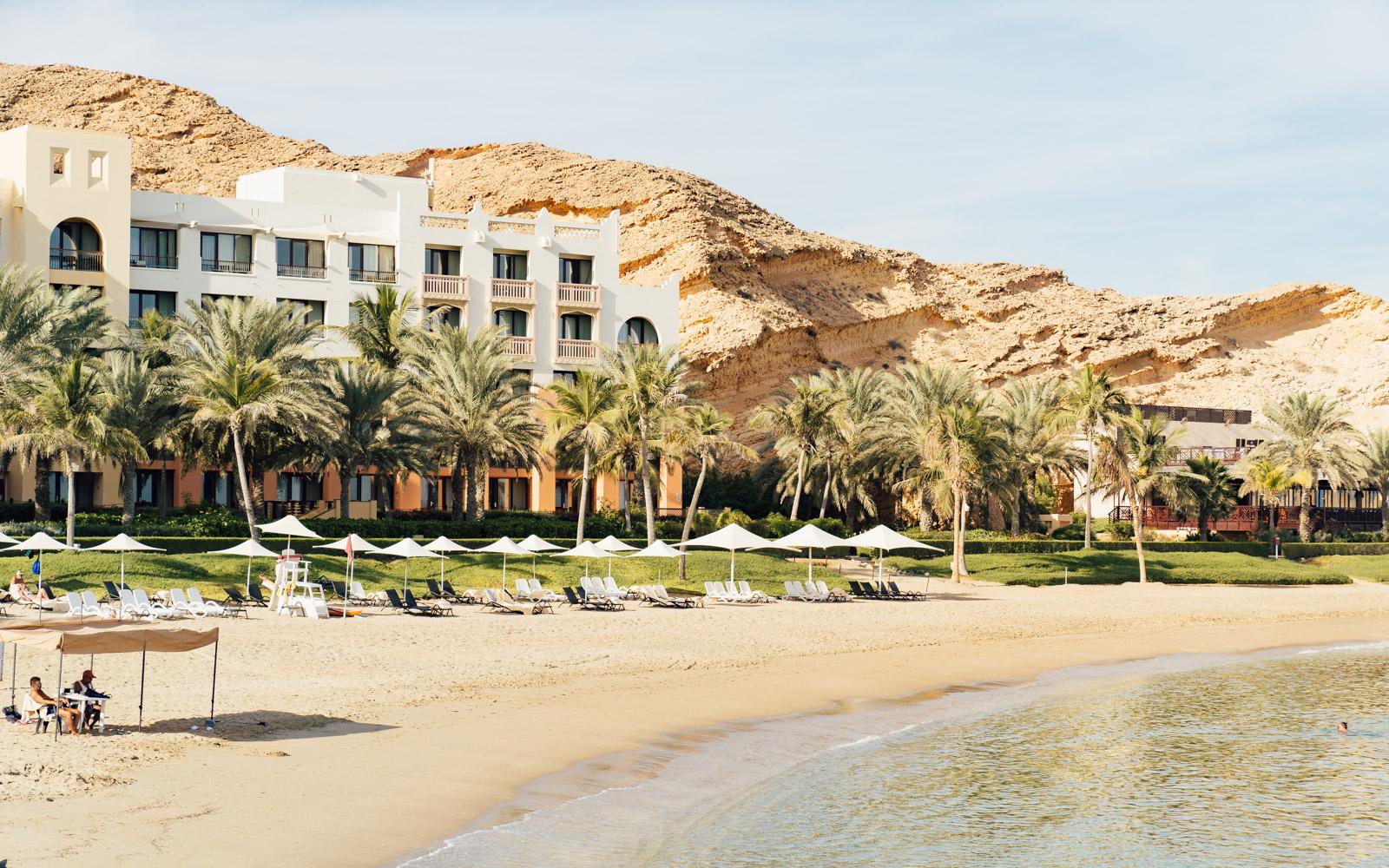 Shangri La Hotel near Muscat overlooking 500-metres of stunning coastline.