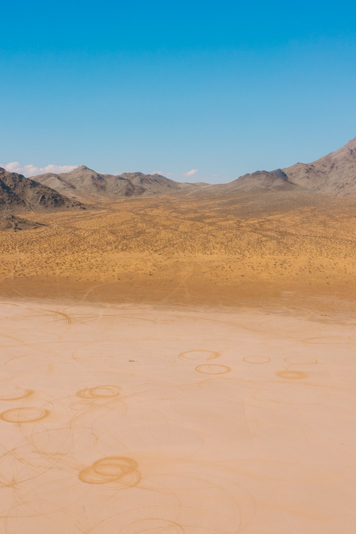 off-roading in Lucerne Valley, California -