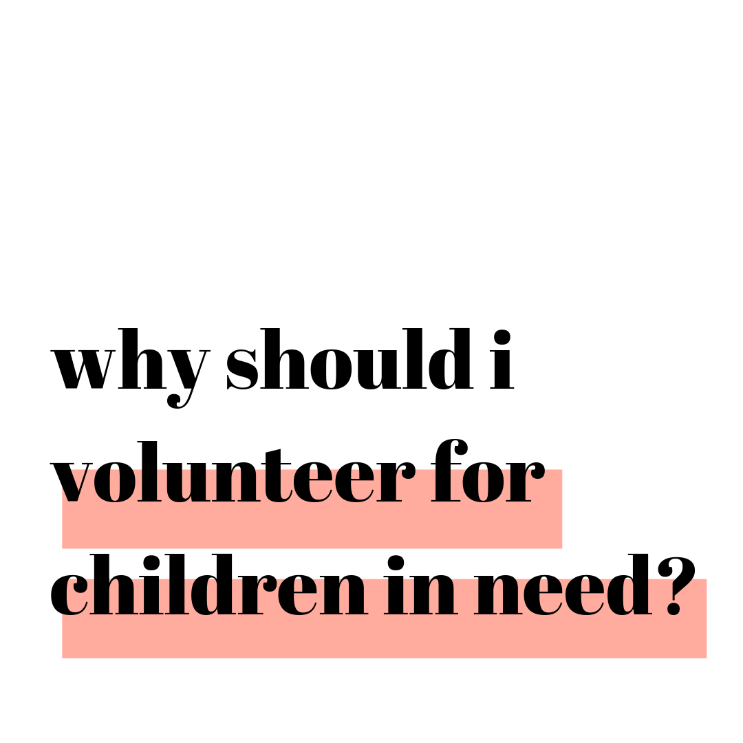 Why Should I Volunteer for Children in Need? with Nicole Moll Box of Balloons Why Should I? Podcast for Women