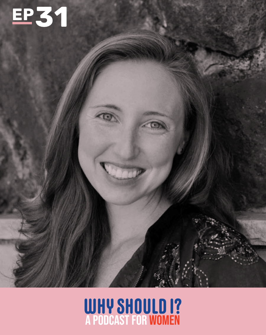 Why Should I? Podcast Ep. 31: Why Should I Lead? with Hilary Grosskopf