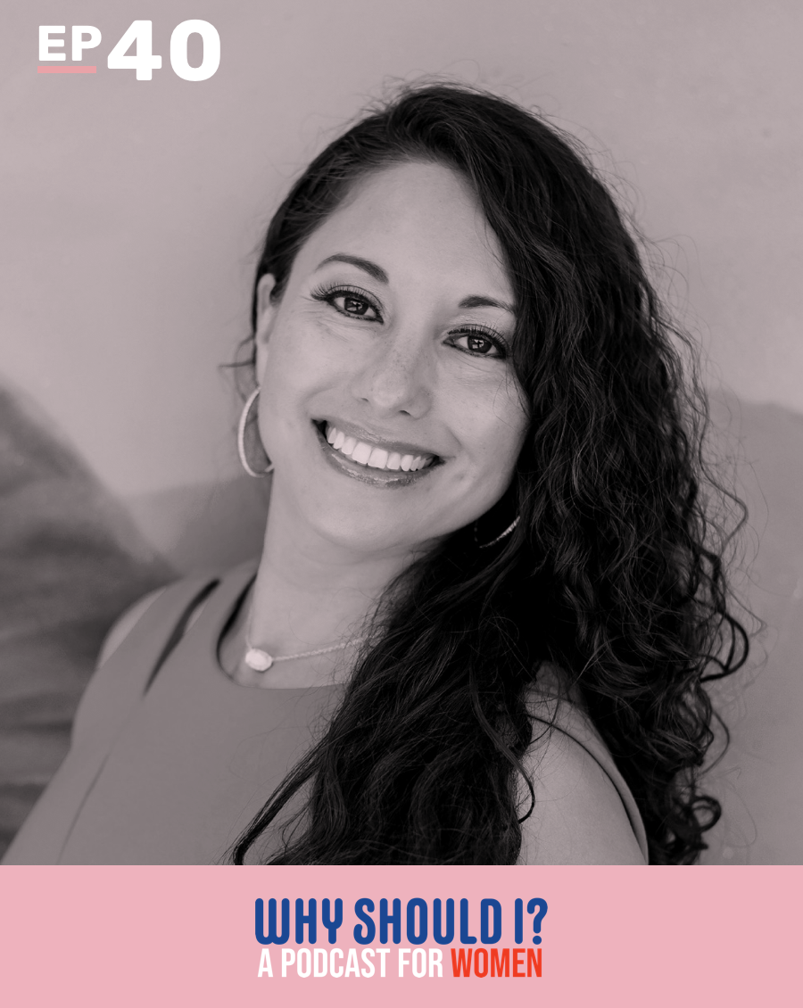 Why Should I? Podcast Ep. 40: Why Should I Manage Stress Holistically? with Dr. Mariza Snyder