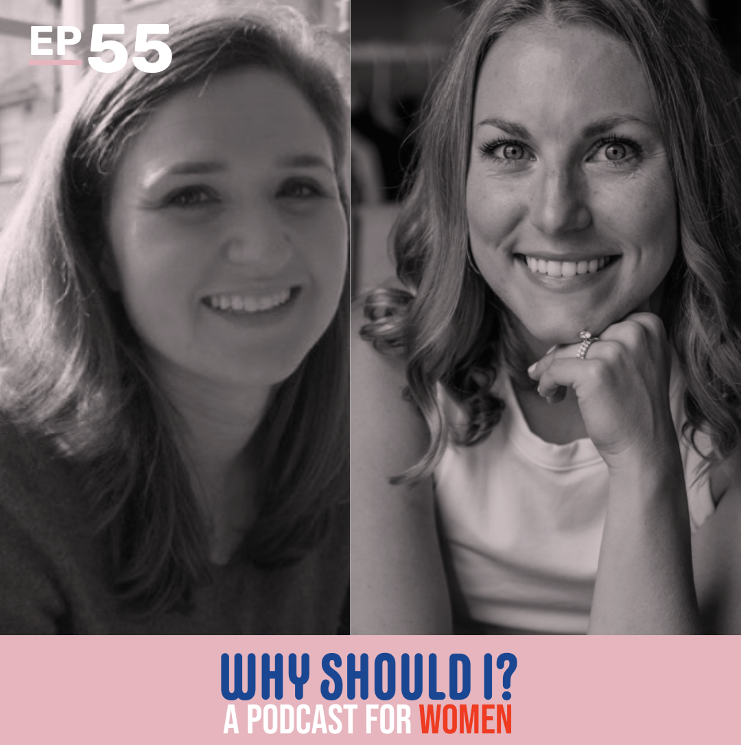 Why Should I? Mixed Bag: Handshakes, Leggings, Smiling with Dash Tabor Why Should I? Podcast for Women