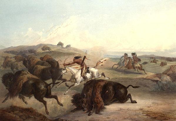 Painting by Johann Carl Bodmer