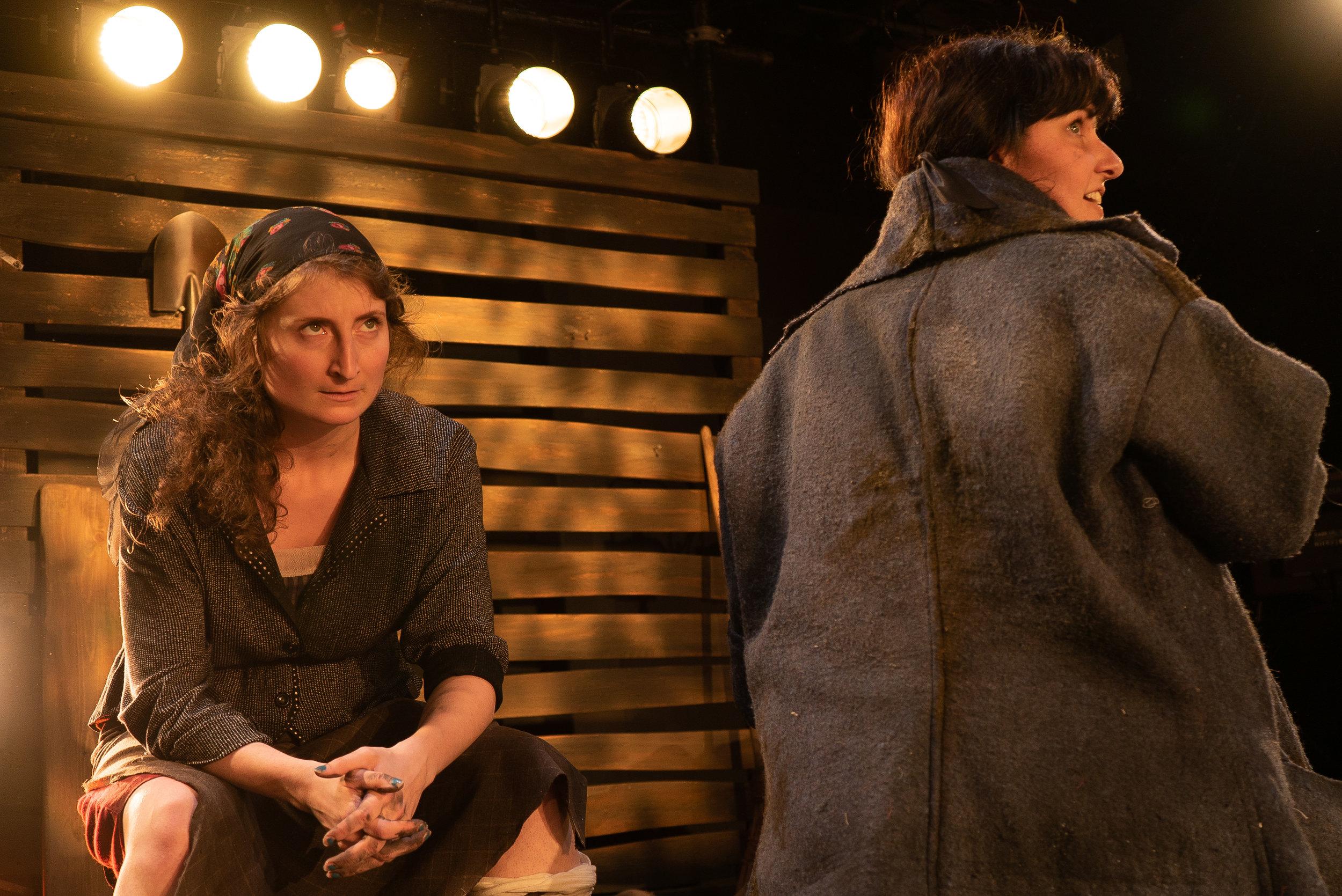 Catherine Dvorak as Halka; Brittany Ellis as Yasia