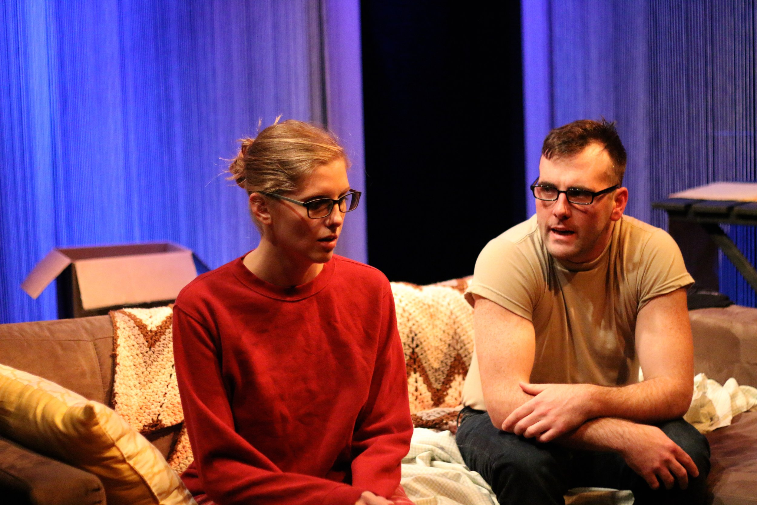 Mickey O'Sullivan as Craig/Peter, Laura Matthews as Kelly