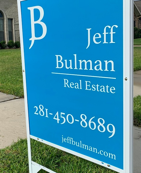 SIGN - Jeff Bulman Real Estate signs have the direct number for Broker / Owner Jeff Bulman. Every time someone calls about your home they will be talking to a Broker who knows what your property has to offer. The front page of JeffBulman.com has every home listed for sale so buyers can quickly get information about your home.