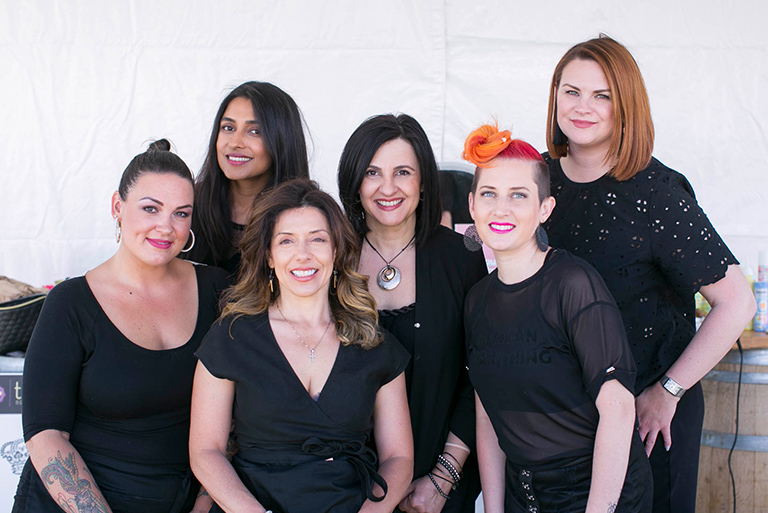 Sponsored by Amika and Saint Cosmetics @ The Atelier, here's some Babes in Business from: Anger & Artistry, Honor Beauty, Saint Cosmetics, Salon Sara Lina, Truvi Beauty  *Photo Courtesy of The Atelier