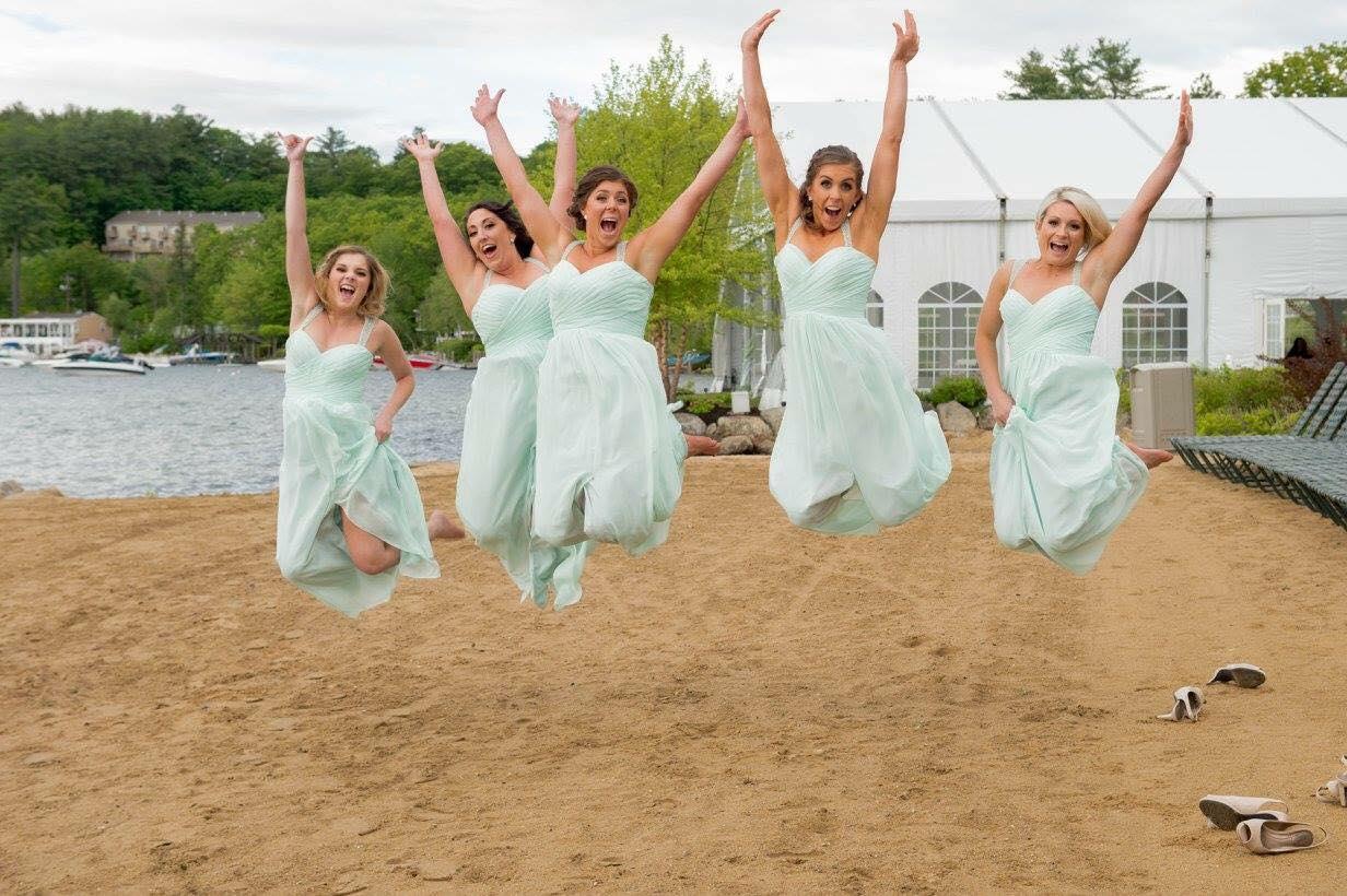 Mint Dress Jump!