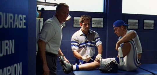 IMAGE: Paramount Pictures -  A classic scene from the 1990s movie  Varsity Blues , was about a group of Texas high school football players, their cutthroat coach, and the lengths to which they would go to play football. Still to this day, it resonates with what pro-athletes will do in pro-sports.