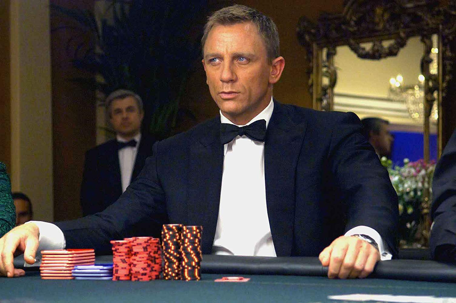 IMAGE: Columbia Pictures - Daniel Craig has played James Bond in five movies, yet his first stands to be the best Bond film in recent years.
