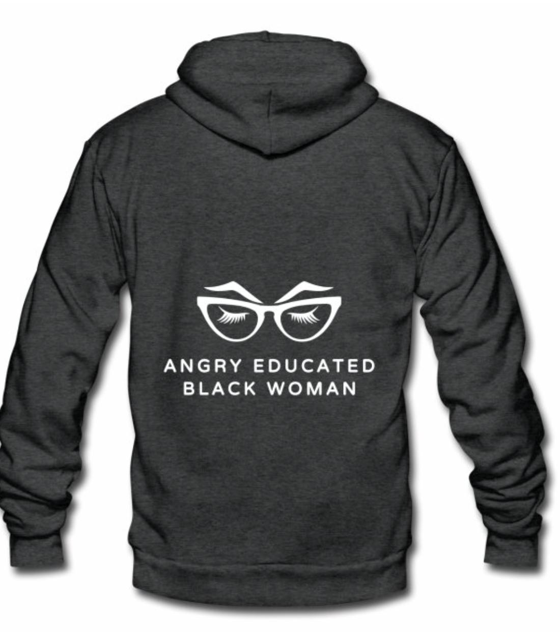Angry Educated Black Woman Hoodie