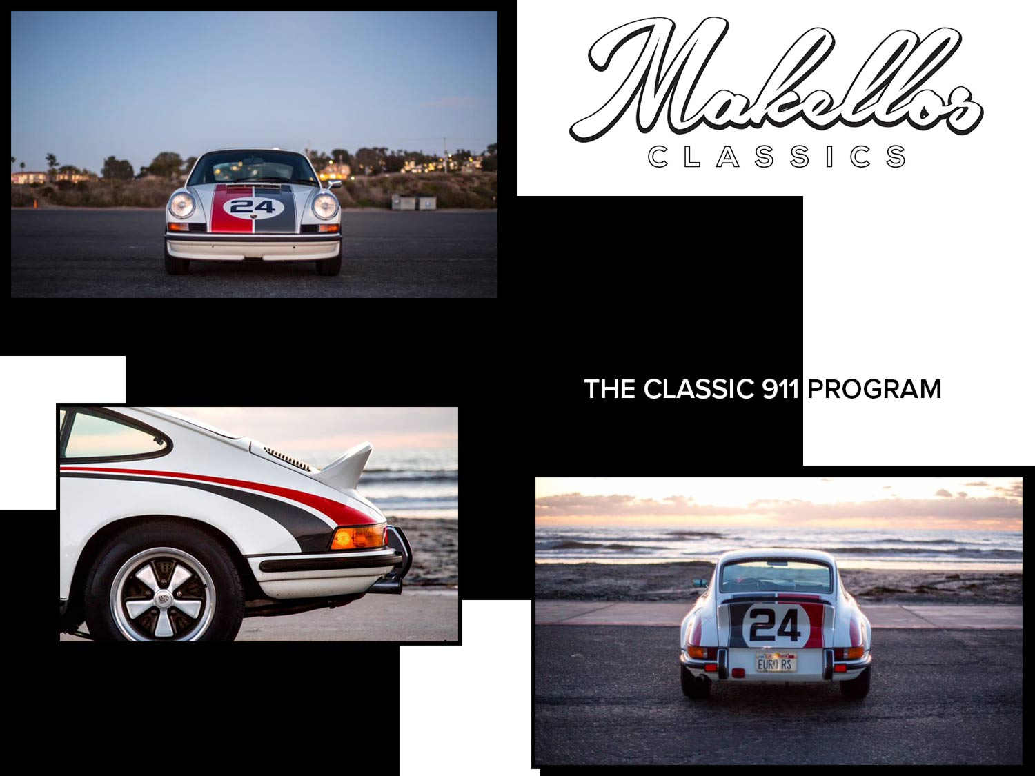 - The Classic 911 Program is for those seeking to add elements of modern convenience while maintaining the integrity and originality of their classic Porsche.