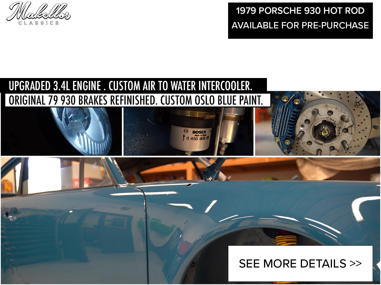 1979 PORSCHE 930 CUSTOM HOT ROD -
