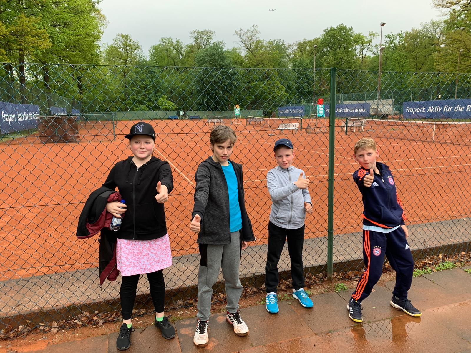 Tennis ist toll! =)