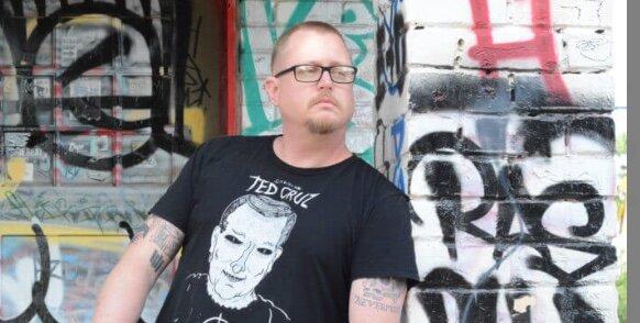 Looking punk, JT Haberschnitzzel. Punk comedy extraordinaire