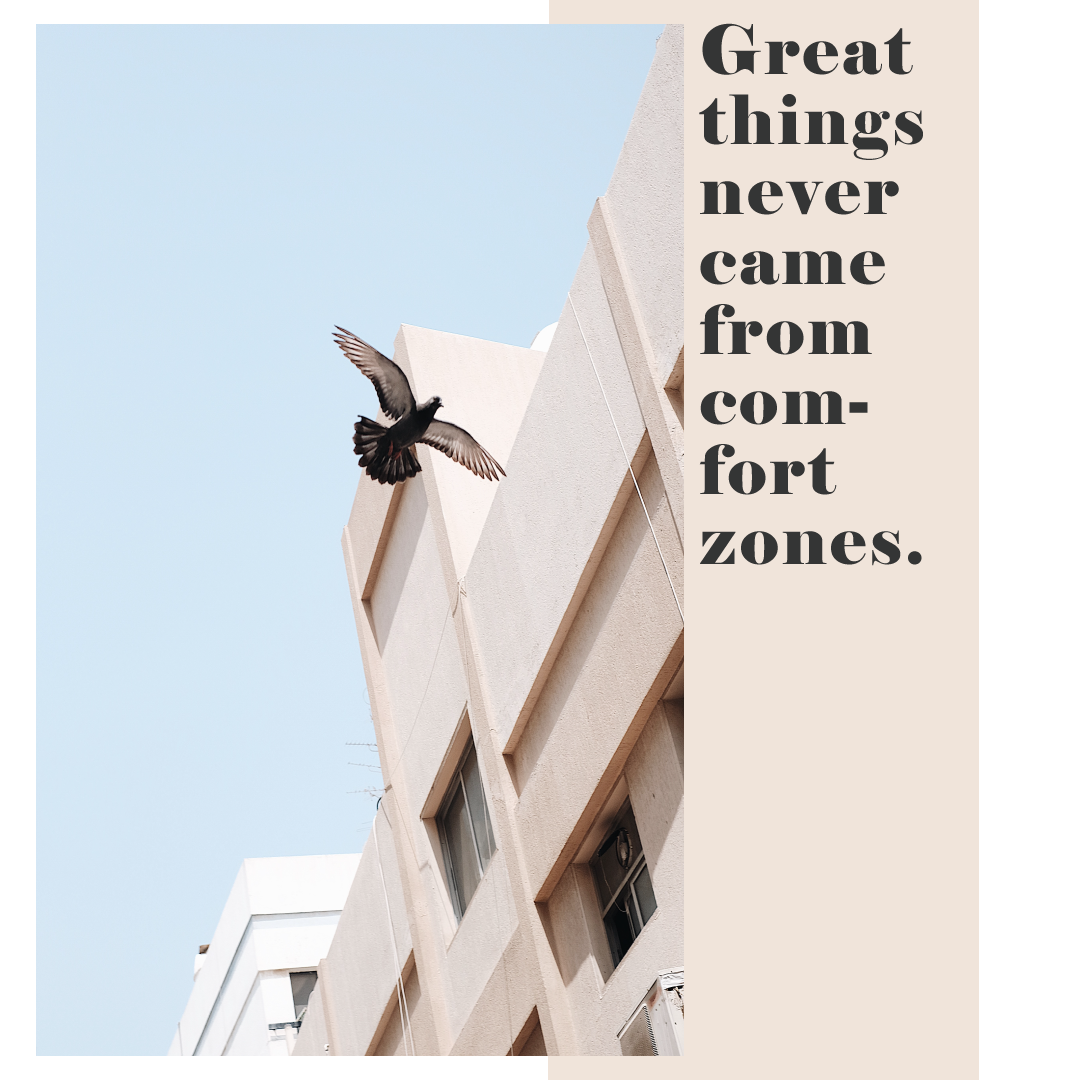 Great things never came from comfort zones, quote, quote of the day, tumblr quote, self growth, soulpreneur, www.herprettybravesoul.com virtual assistant, germany, niedersachsen, osnabrück, virtuelle assistentin, kindness, love