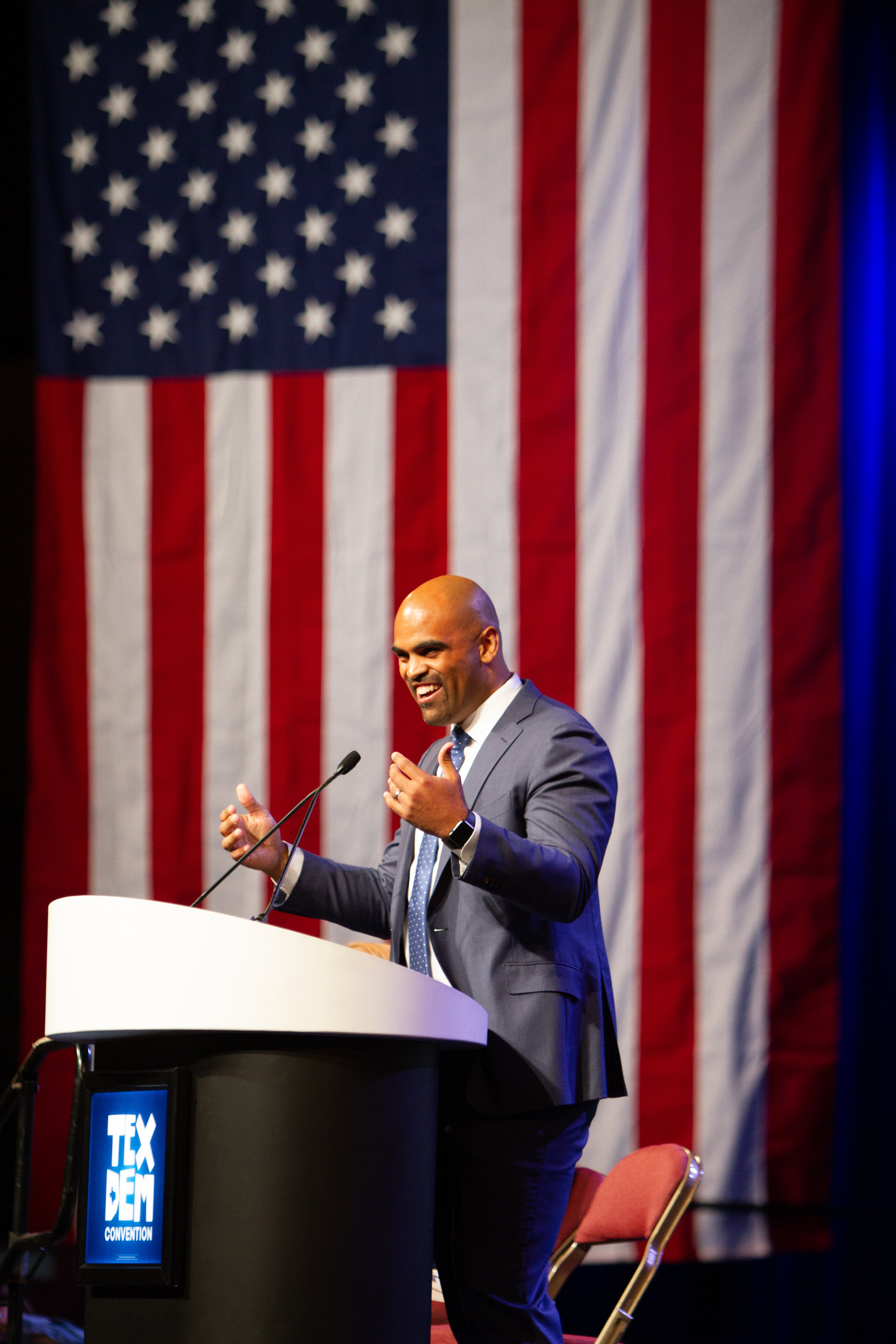 colin allred - event photo - young democrats