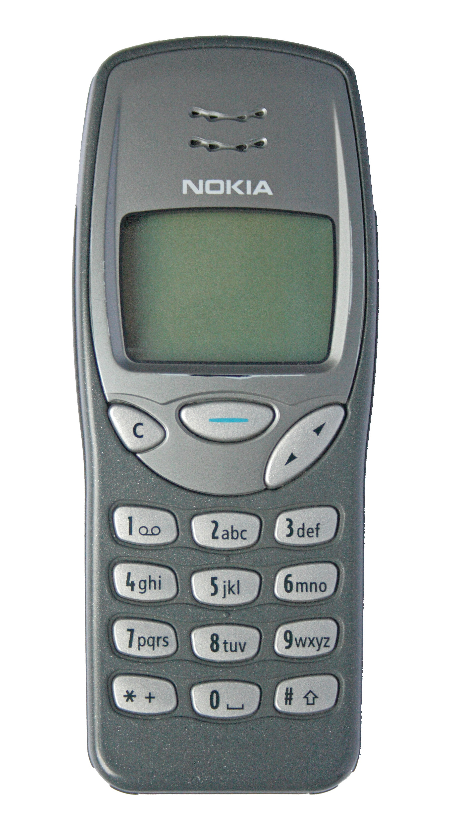 The trusty ol' Nokia 3210
