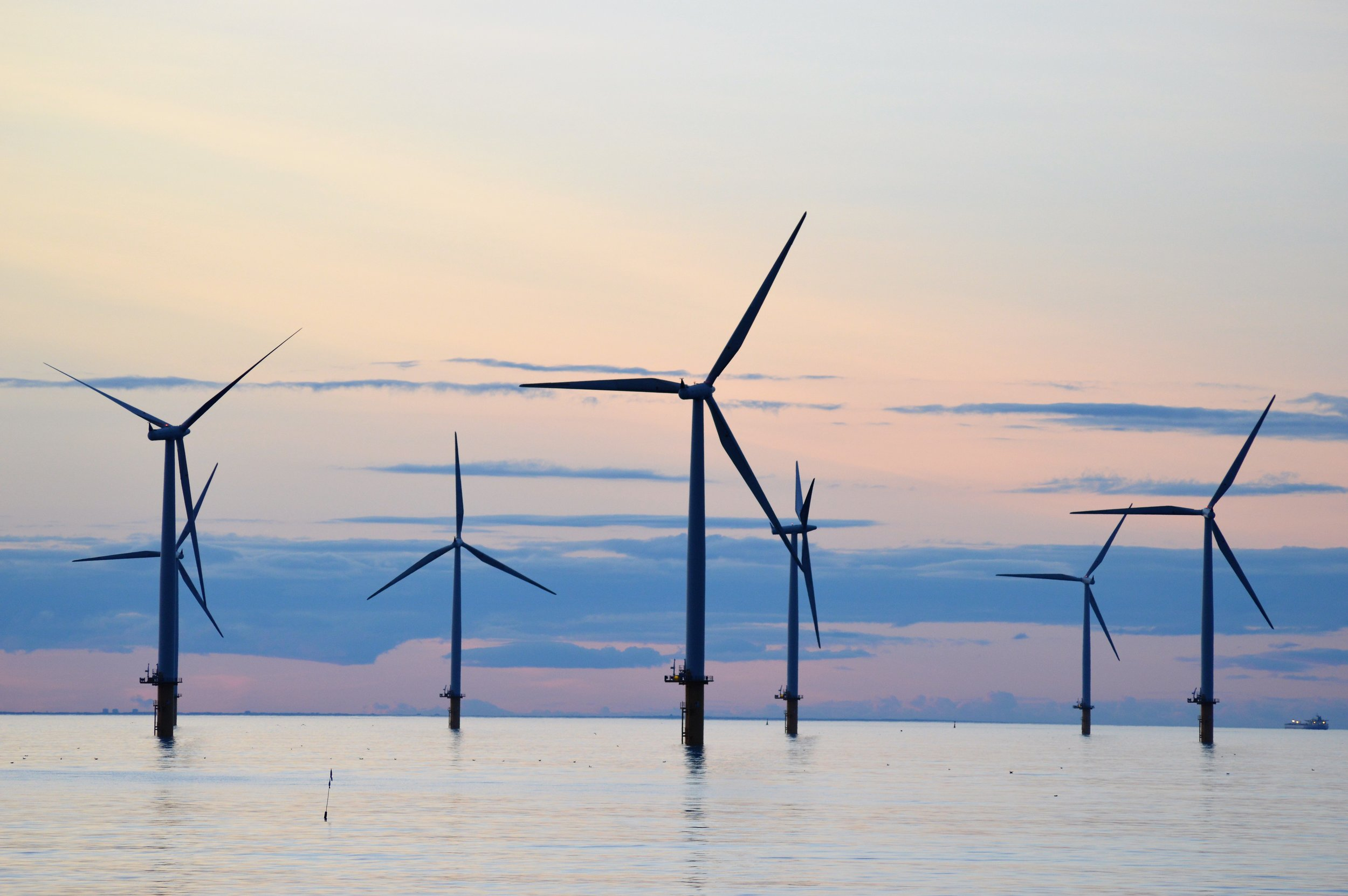 Offshore wind turbines morning.jpg