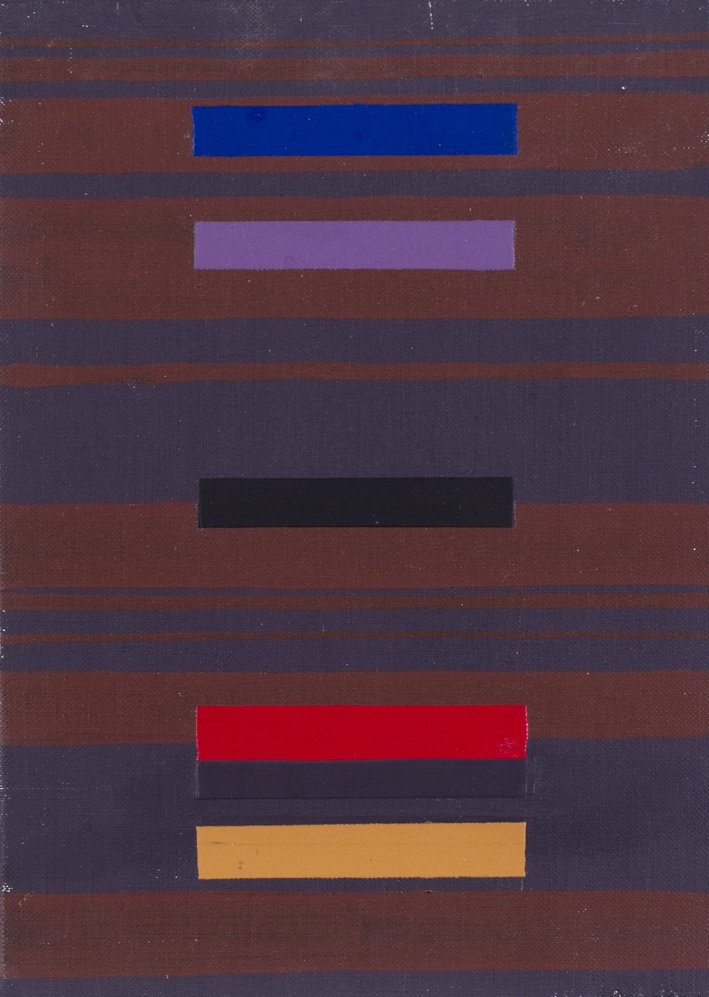 Progression, 1975    Acrylic on canvas  Signed and dated 'J Froment 1975' (on the reverse)  8.7/8 x 6.3/8 in. (22.1/2 x 16.3 cm.)   Price: £610