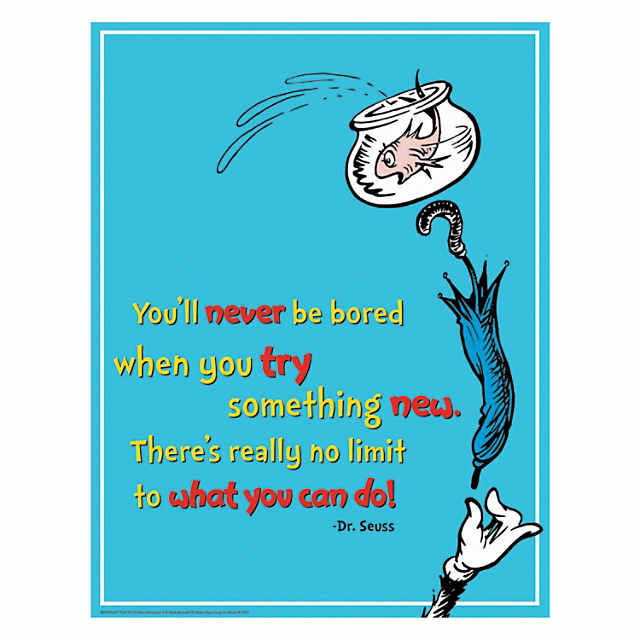Sage words - with thanks to Dr Seuss
