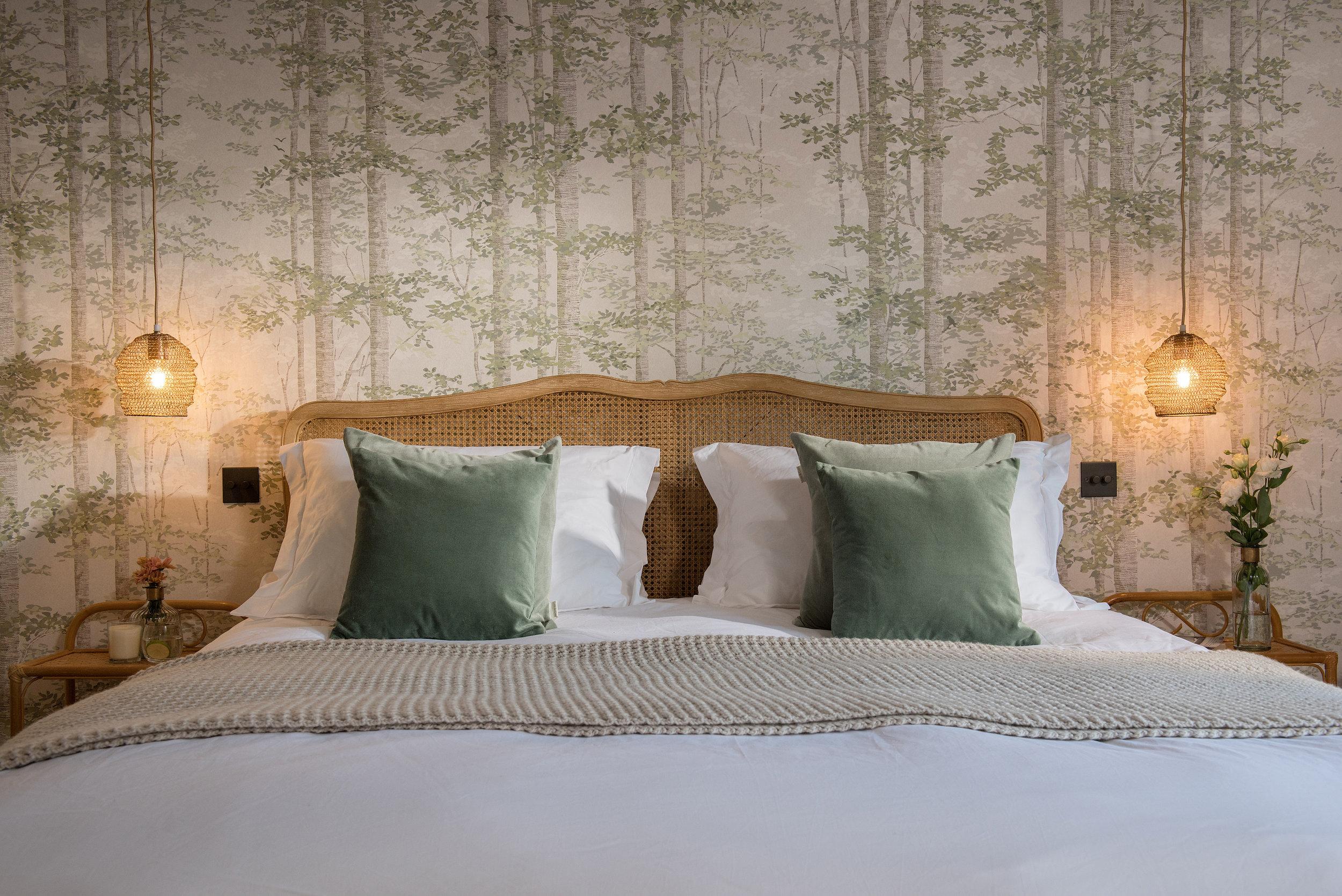 Bedroom 2 - spacious & calming
