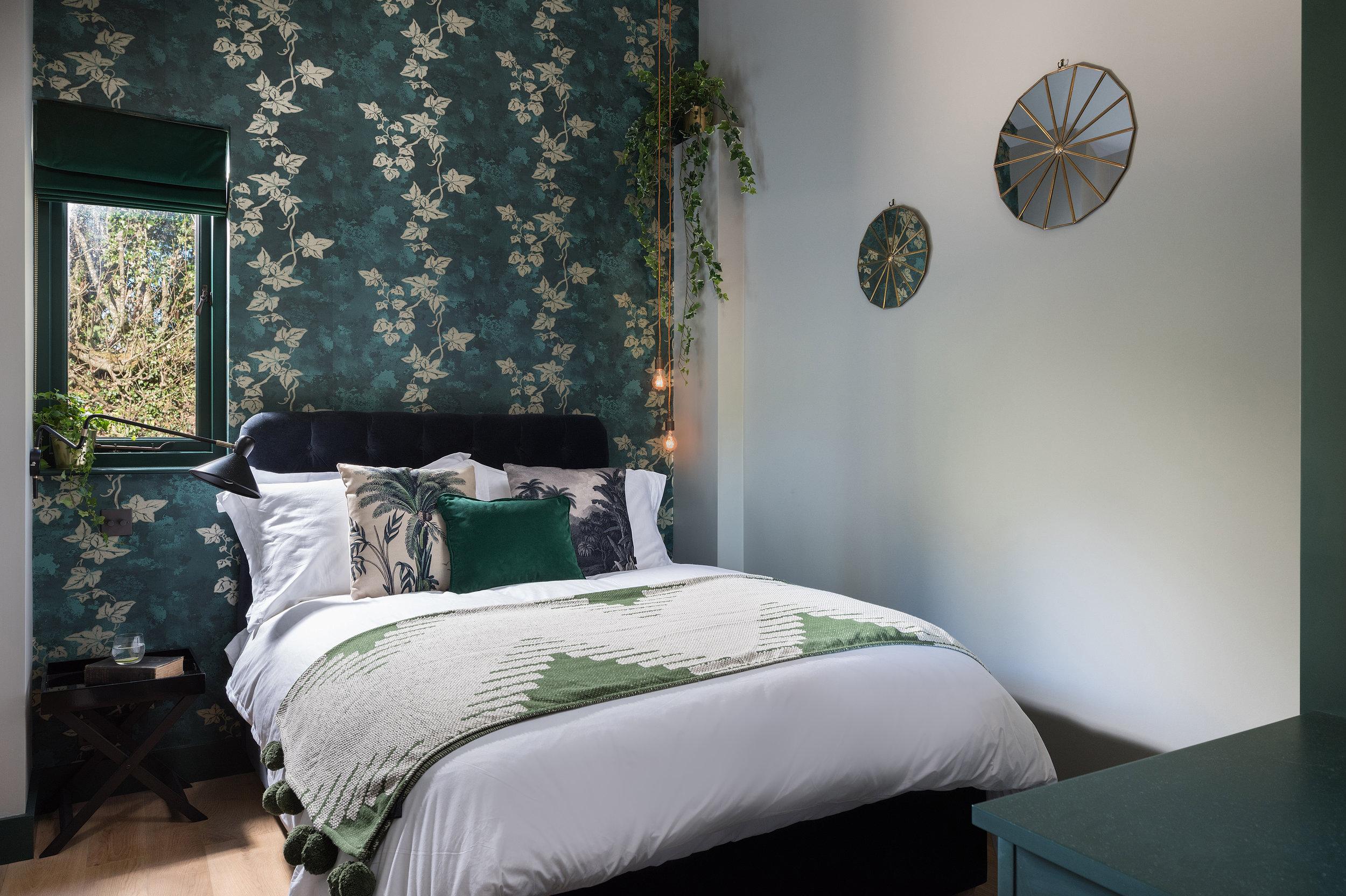 Bedroom 1 - dark & decadent