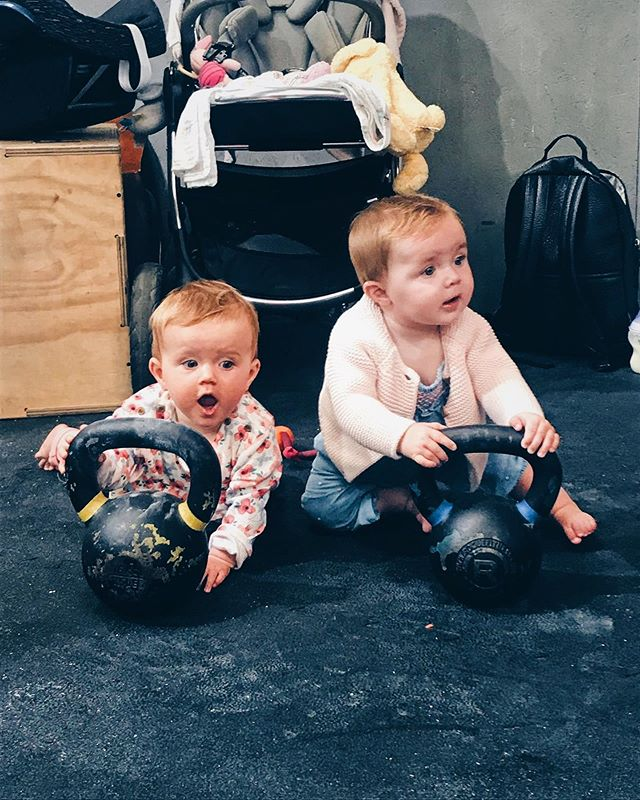 • KIDS AND KETTLEBELLS Ladies bring your babies!