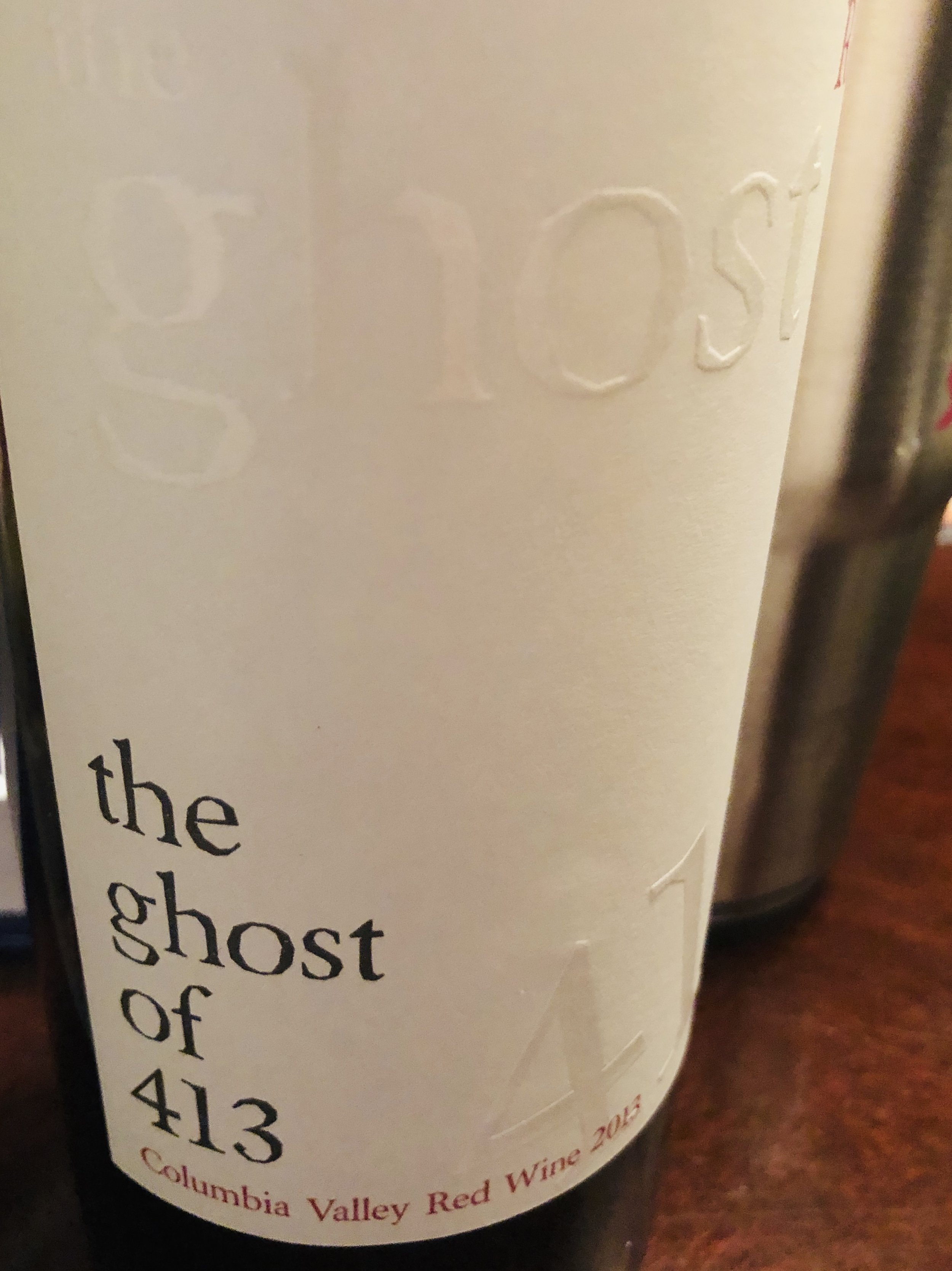 The Ghost of 413 Red Wine 2013.jpg