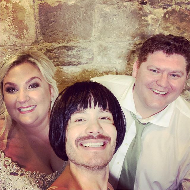 What a great Saturday I had performing at The Square Tower in Portsmouth. Congratulations to Natasha and Stuart on your wedding day! I wish you both a lifetime of happiness. #love #freddiemercury #queen #gay #pride #wedding
