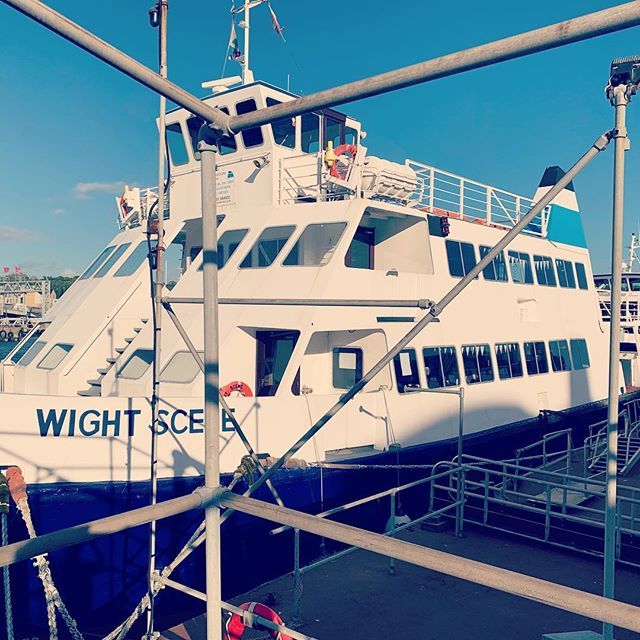 Had a blast performing on this little love boat last week. The Isle of Wight really know how to party! #freddiemercury #queen #bohemianrhapsody #isleofwight