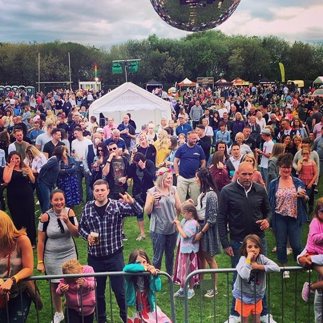 What an amazing crowd at Hagley Beer and Music festival! You all made last night so special. Hope to see you again soon. #freddiemercury #queen #adamlambert #gay