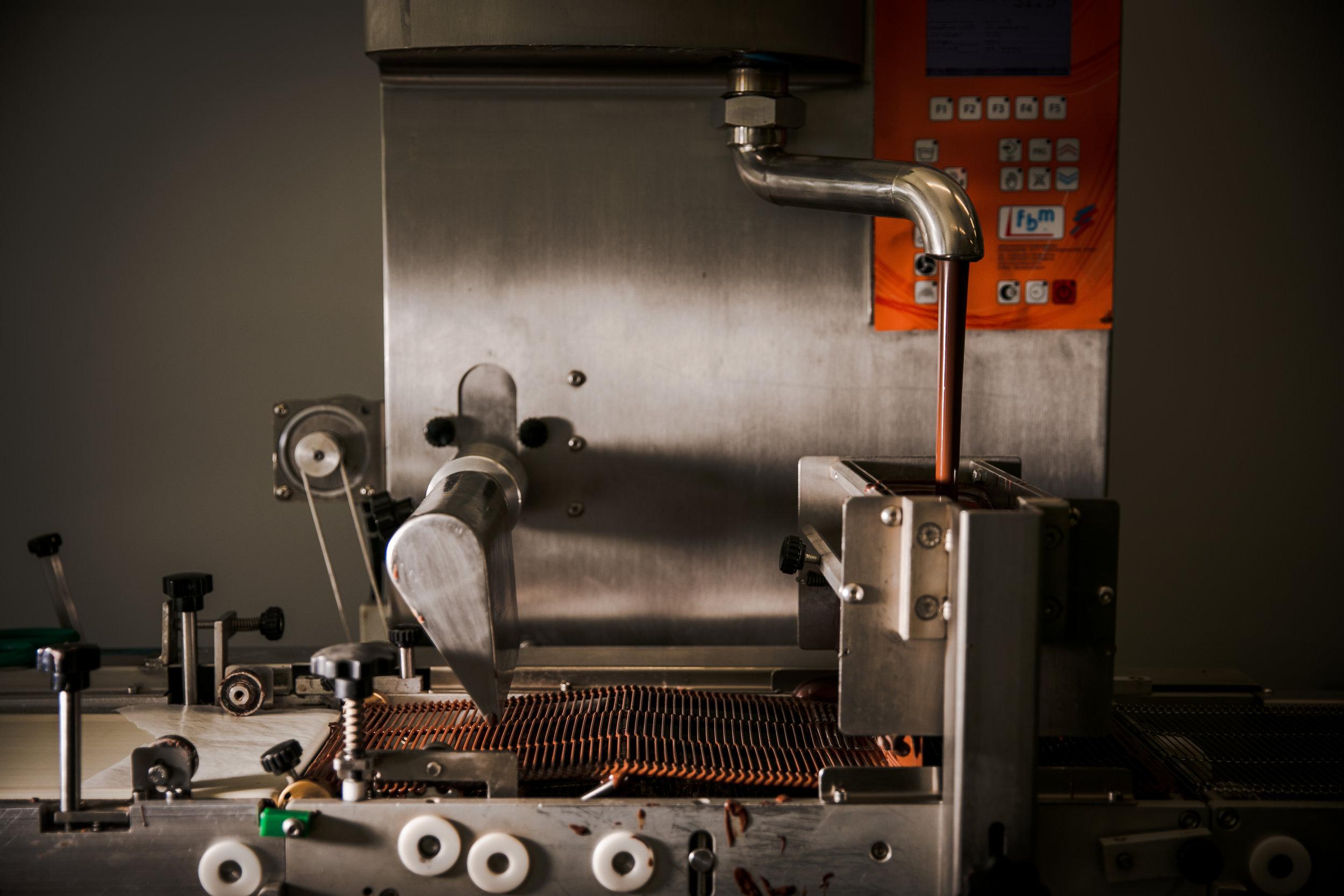 EHChocolatier enrobing machine