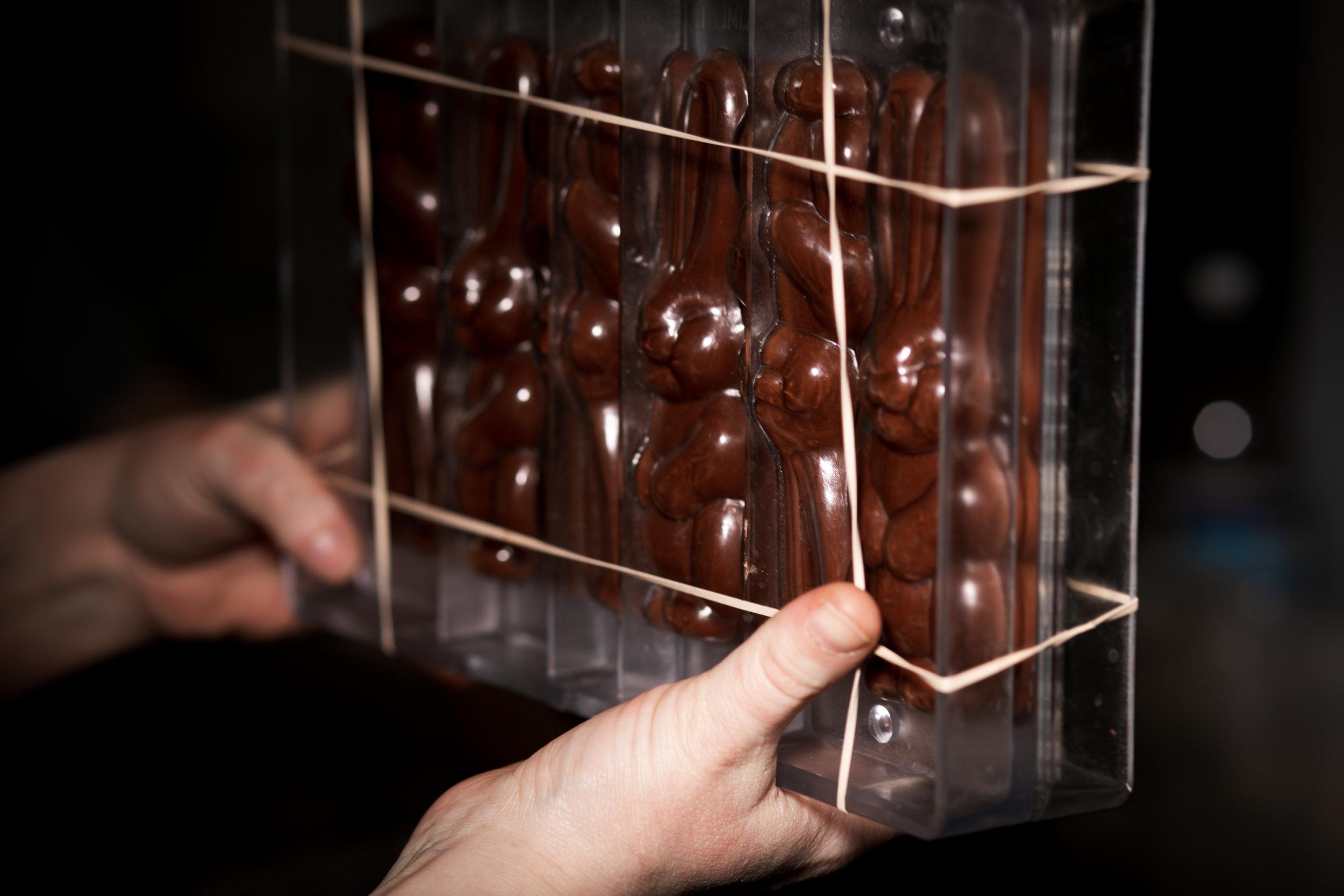 Chocolate molding