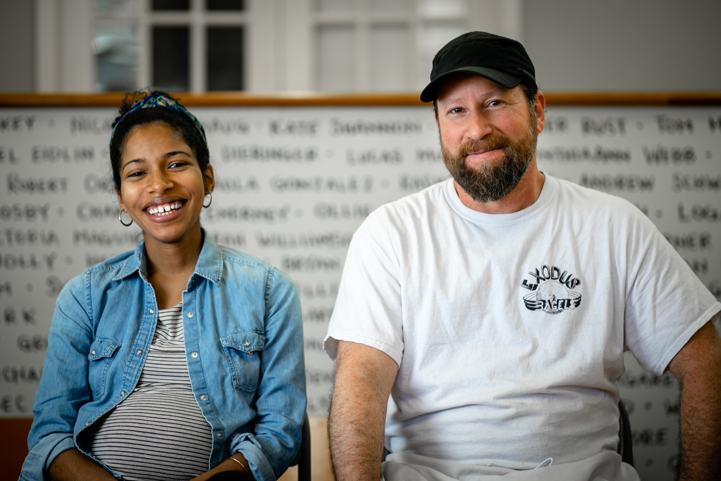Adam Hirsh and Priscilla Andrade, Exodus Bagels