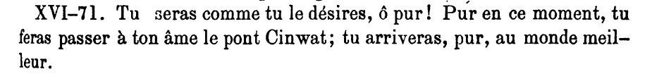 Yaçna LXX; XVI-71 (P 397)
