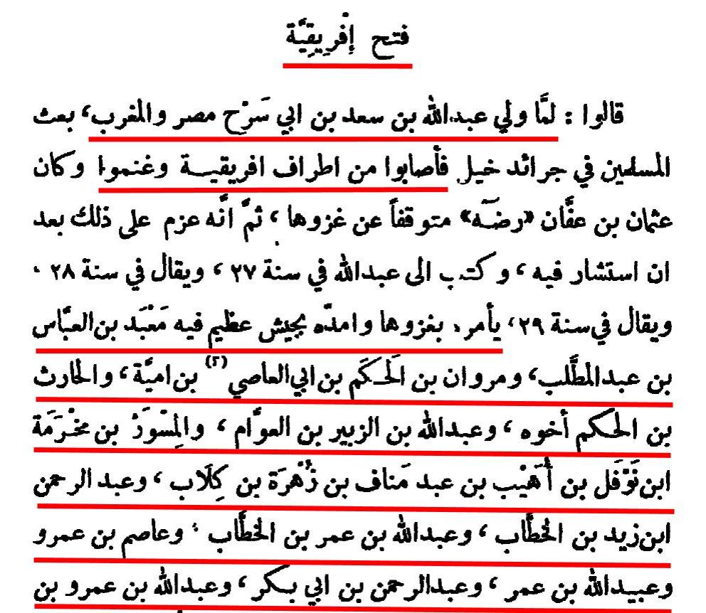 Kitâb Futûh al-Buldân d'al Balâdhurî - Page 317