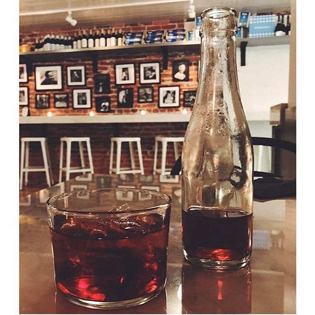good family matters is • negroni di @emissary_dc 🥃 • swing by, grab good drinks and deli bites 😏  thanks to @jt.png for finding us, come by soon!  #negroni #emissarydc #sisterbusiness #dupontcircle #dcdrinks #drinklocal #theneighborhoodjoint #emissarydc #washingtondc #springhassprung