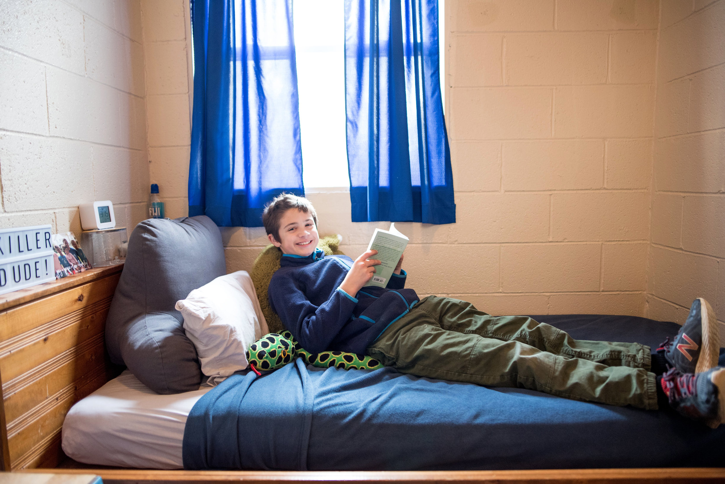Oakland School's boarding program gives students a home away from home.