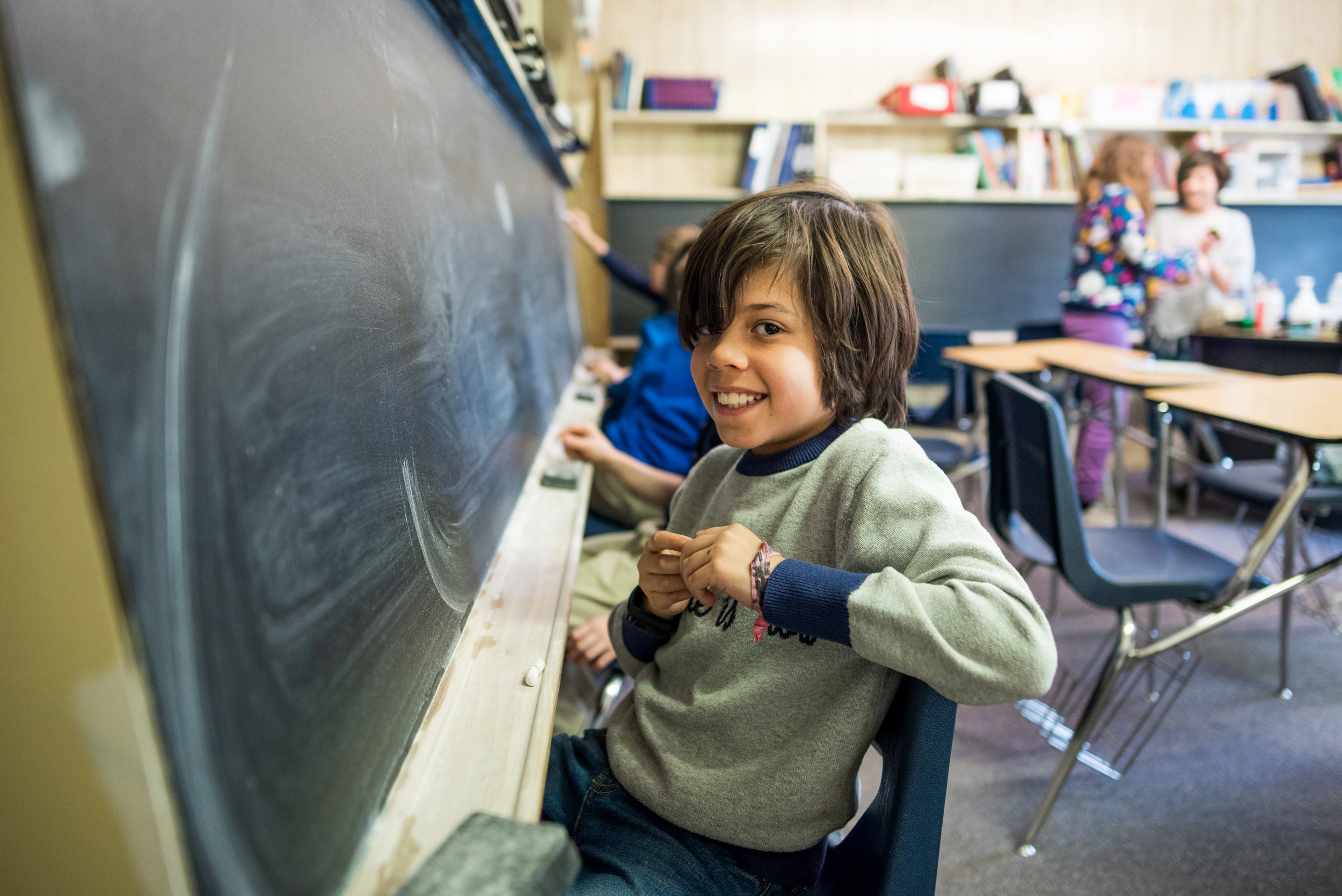 Oakland School allows students to learn at their own pace.