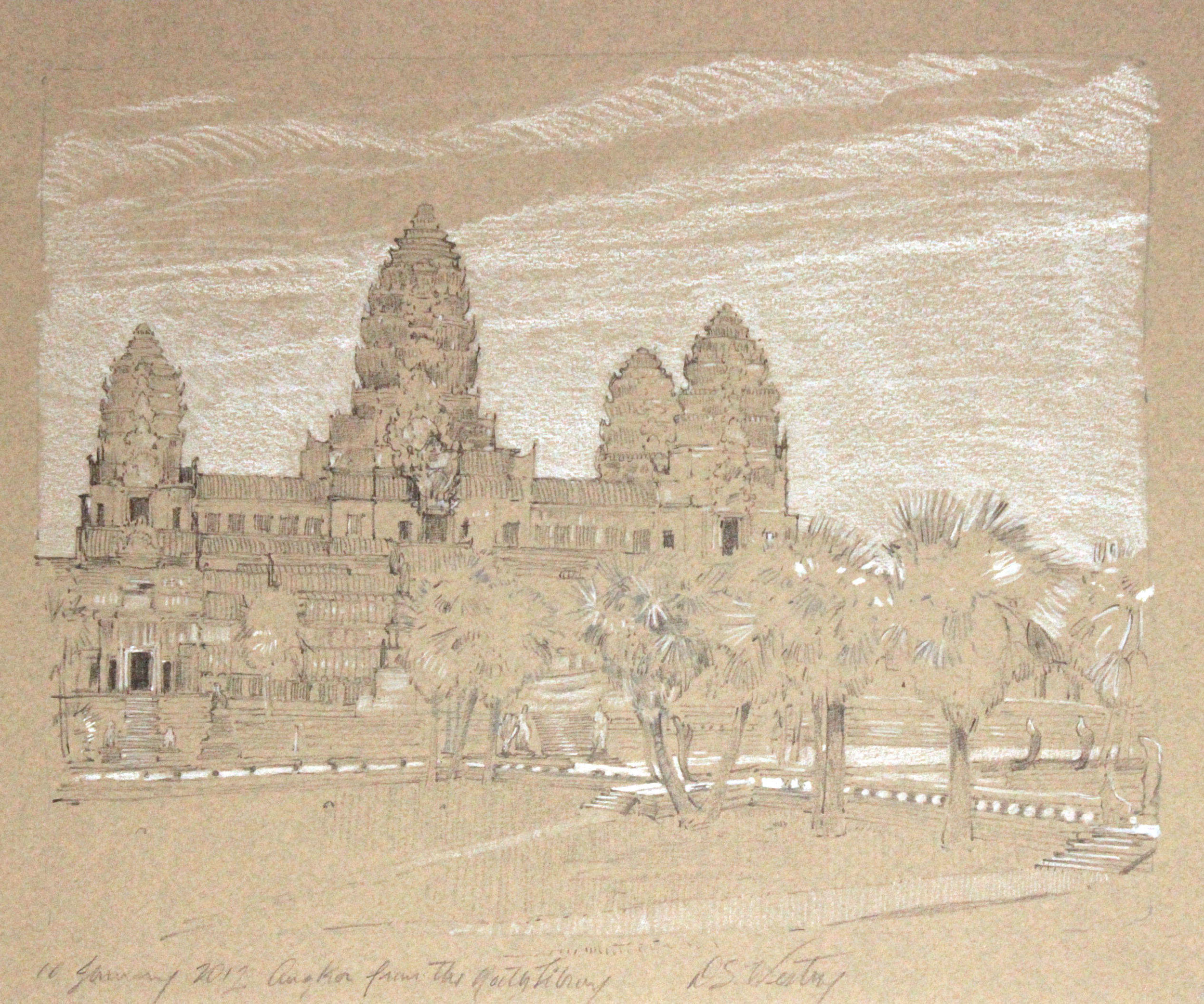 Angkor from the Library, Sold