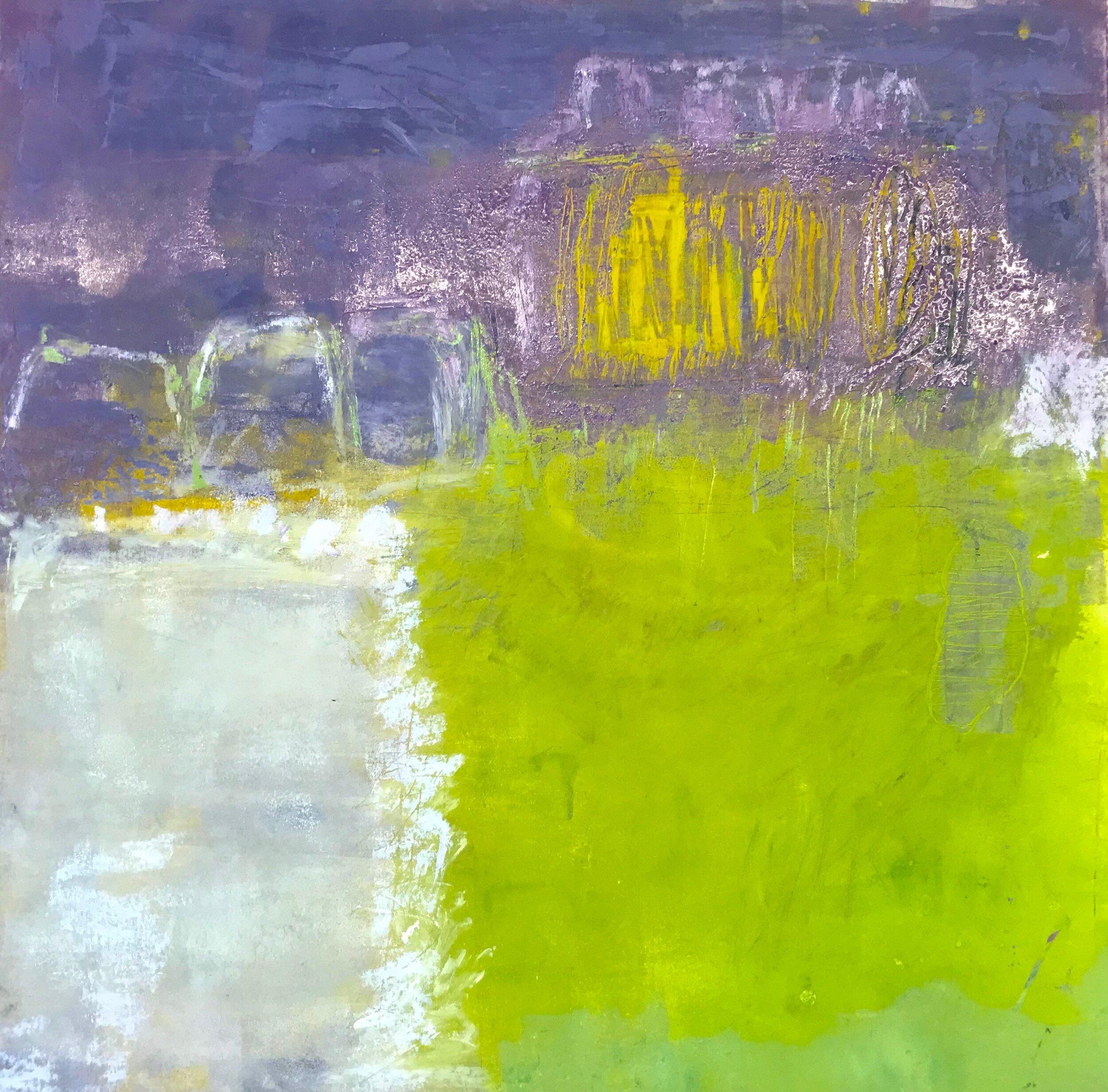 Green Meadows (18x18)