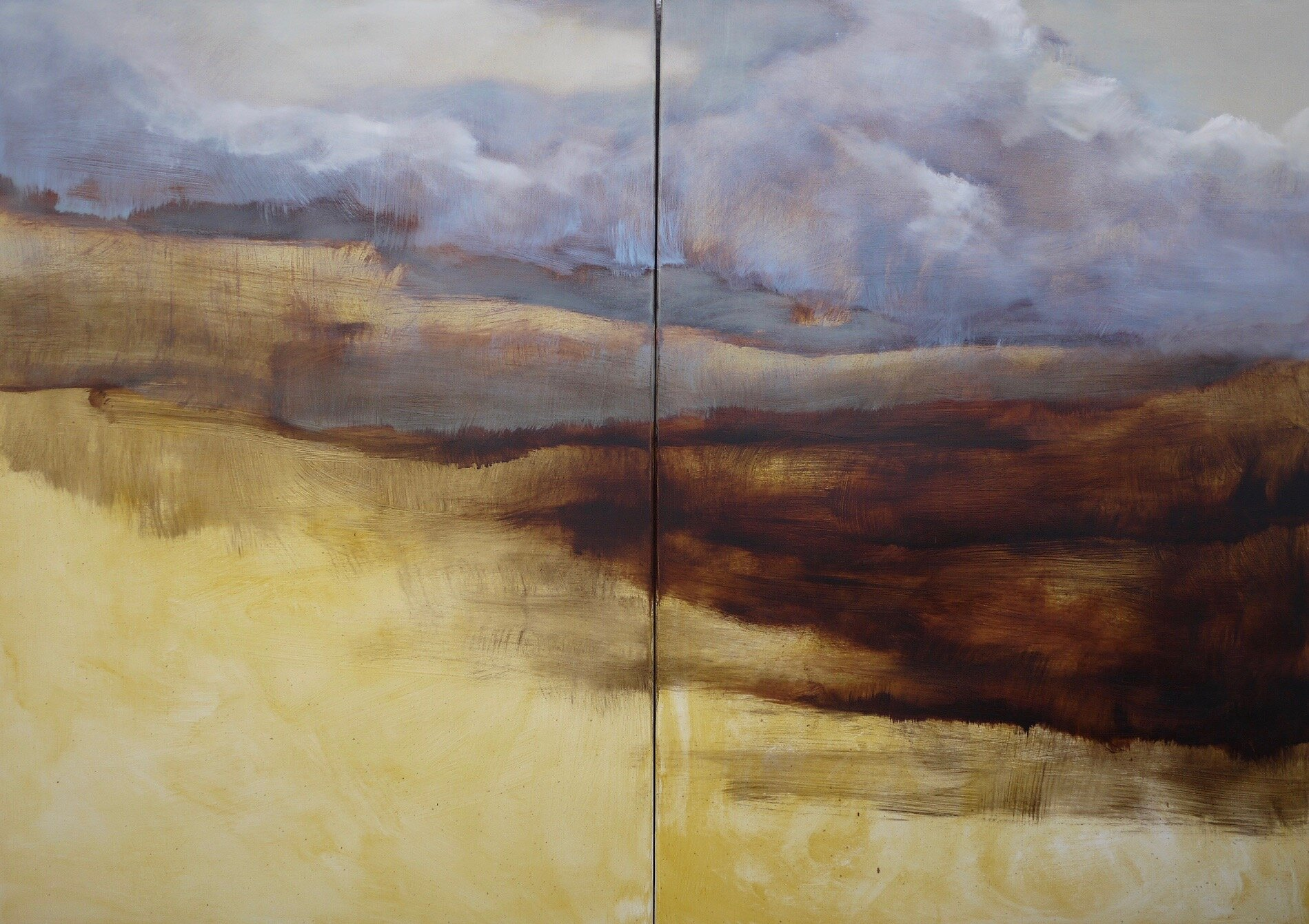 Rough Diptych (28x40)