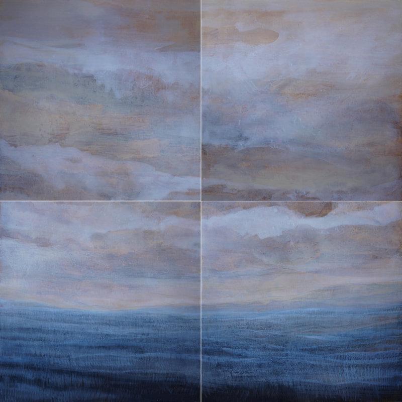 4 Part Sea (23 5/8x23 5/8)