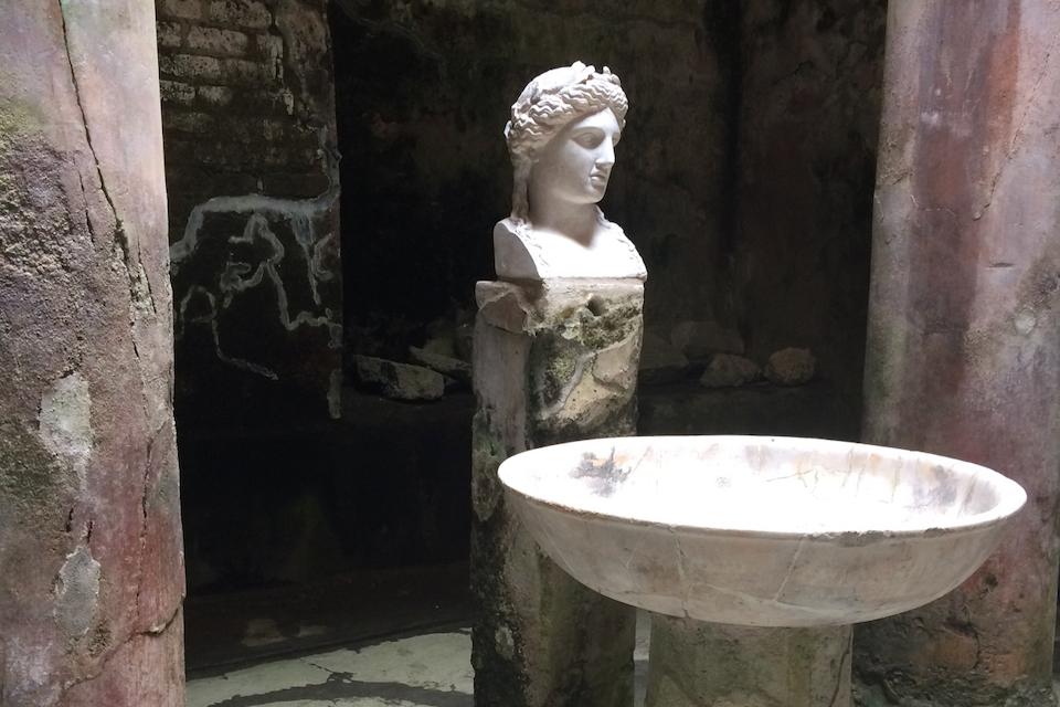 Roman Baths in Herculaneum