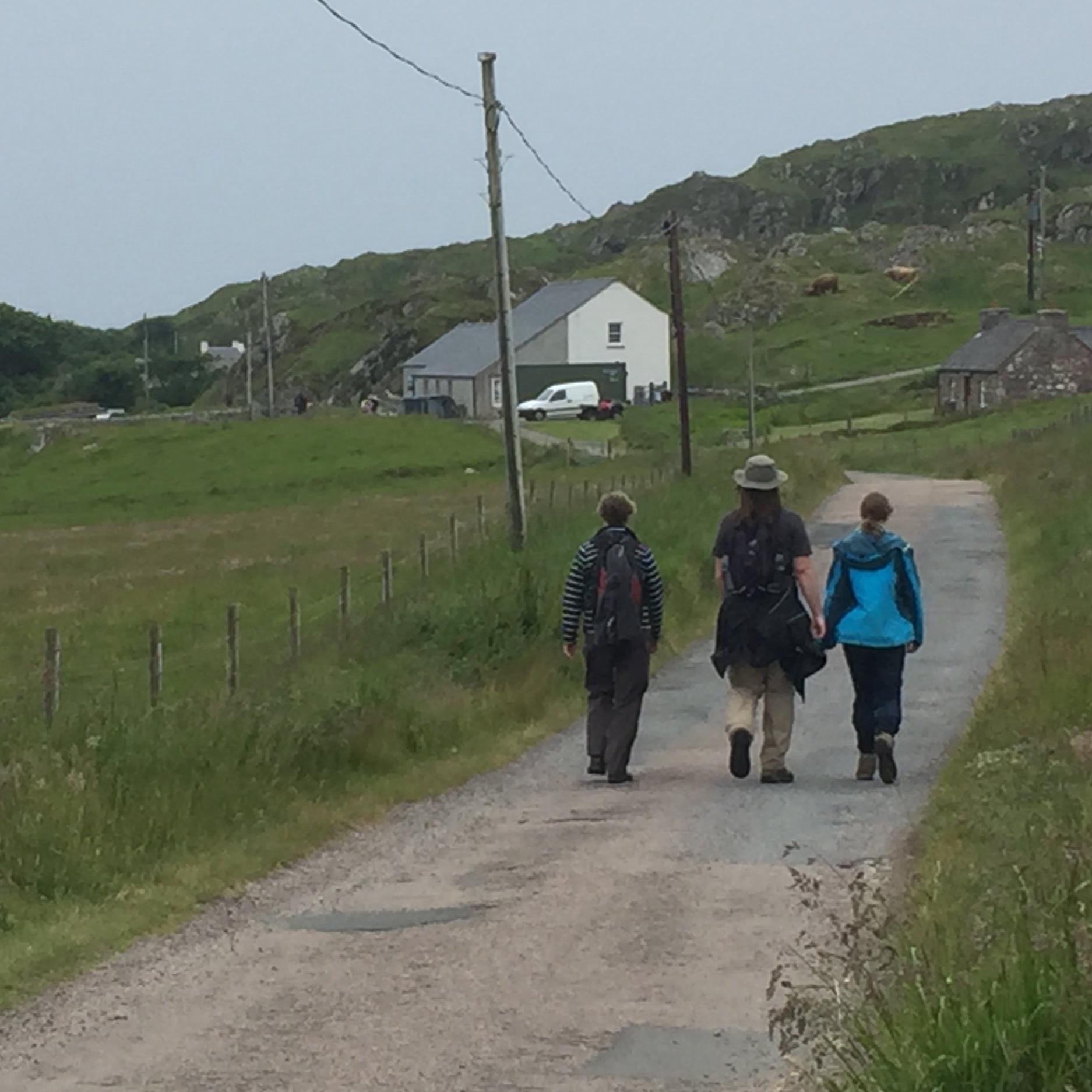 Walking St. Cuthbert's Way - 20 - 26 June 2020