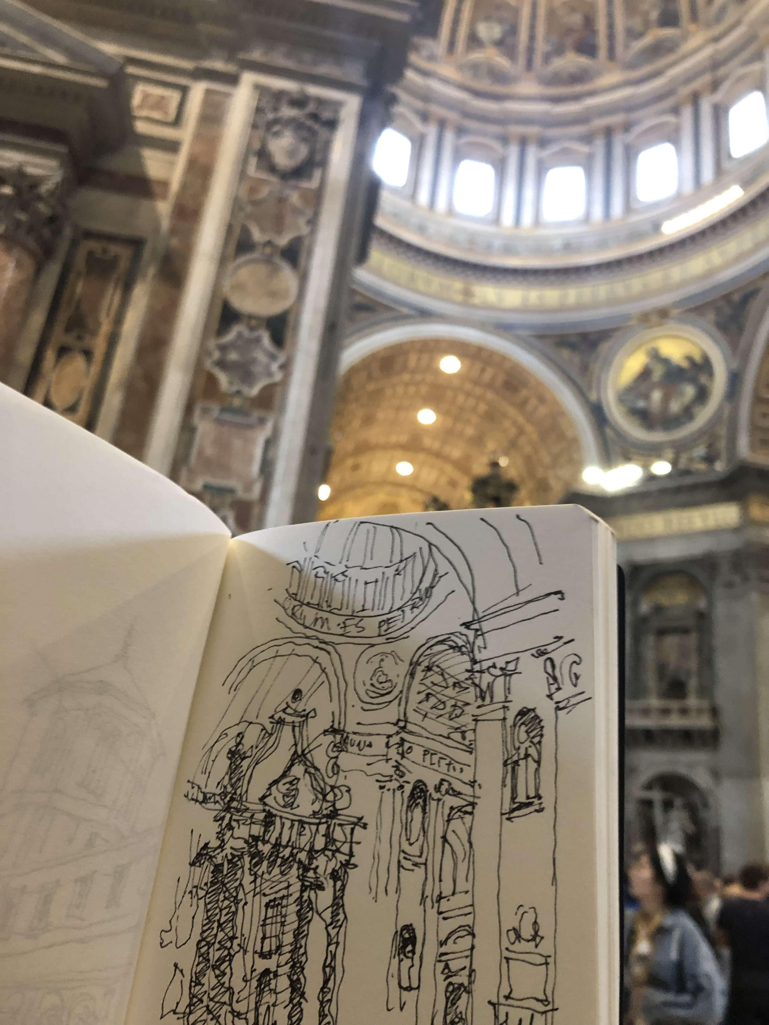 - Consider joining one of Tom's Italy programs for a first-hand experience sketching and scrapbooking.