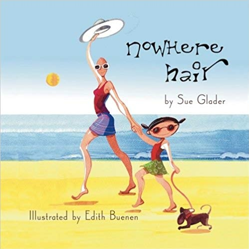 Nowhere Hair: Explains Your Cancer and Chemo To Kids (first edition - The book, written in rhyme, explains hats, scarves, wigs, going bald in public, and the idea of being nice to people who may look a little different than you. It ends with the idea that what is inside of us is far more important than how we look on the outside.