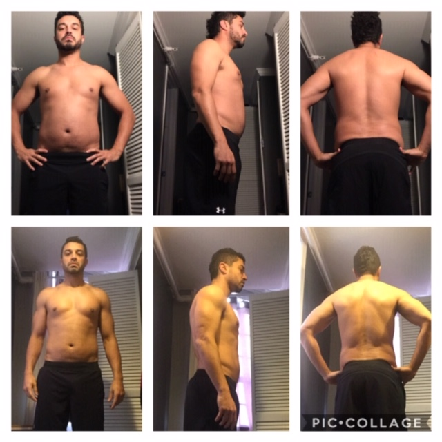 Lost 14 lbs in first 12 weeks including 4.75 inches off his waist!  Thanks Brad for helping me reach my goals. I'm a fairly fit and healthy person. I know what to eat and how to workout. My issue is portion control. I'm not a big fan of restrictive dieting; thus, macro tracking was a perfect fit. I could eat anything I wanted, but I had to make sure to track and hit my macro numbers. You can't minimize the impact of having Brad as my coach holding me accountable. After 12 weeks I was able to lose over 15 lbs. I highly recommend Alkeme Fit to achieve your fitness goals.